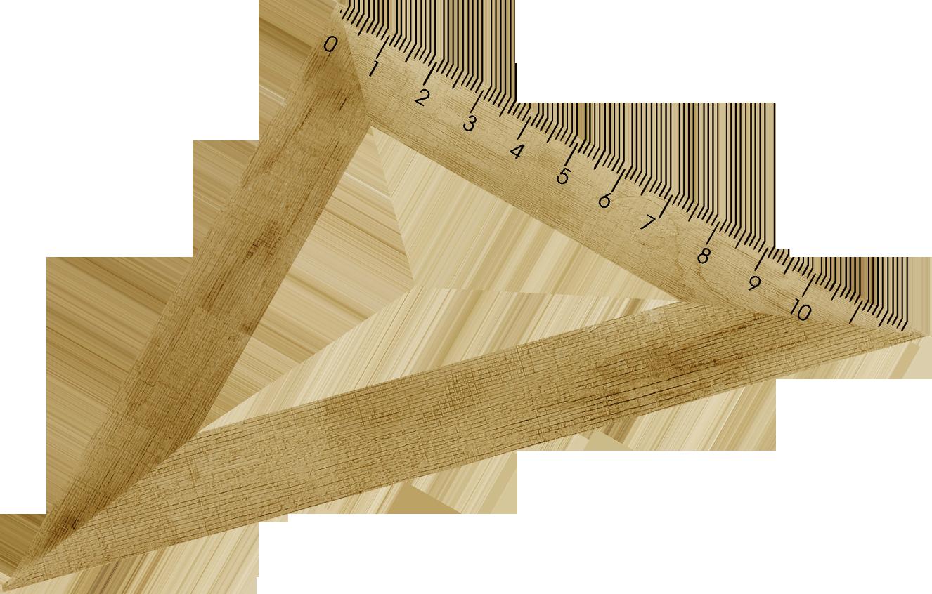 Set square wood try. Clipart ruler wooden ruler