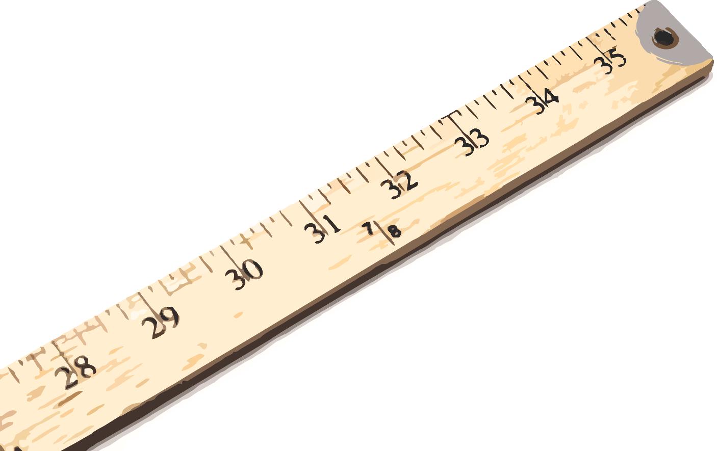 Clipart ruler yardstick. Patterns thumbnail image