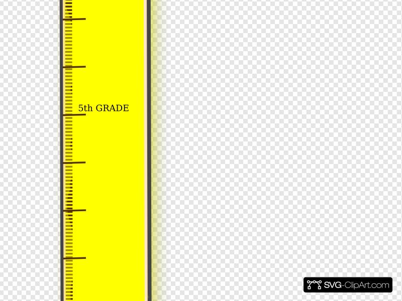 Clip art icon and. Clipart ruler yellow
