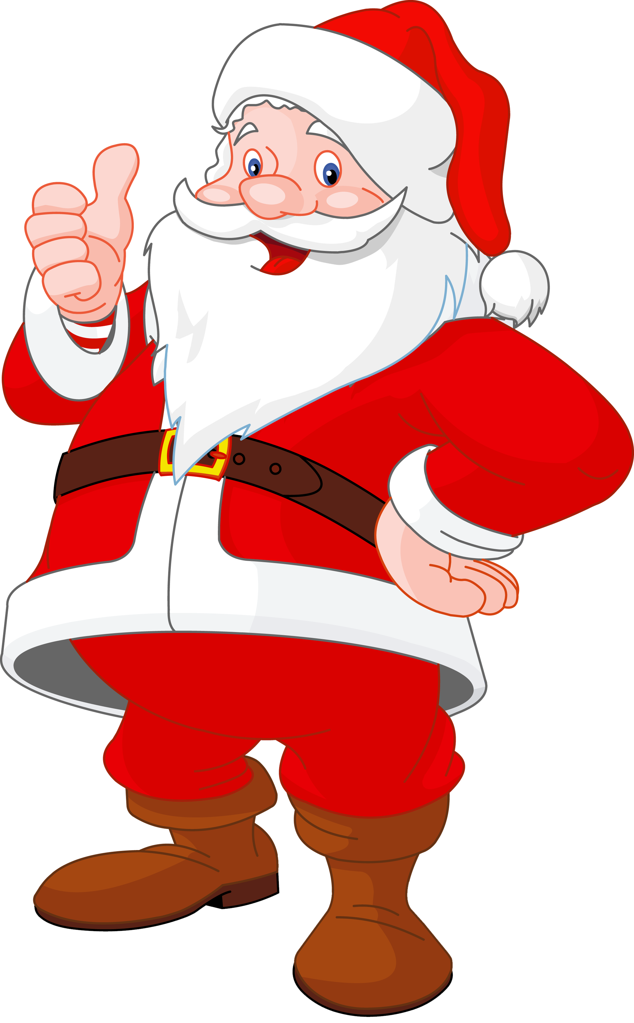 Cool clipart christmas. Transparent santa claus gallery