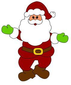Free claus clip art. Santa clipart