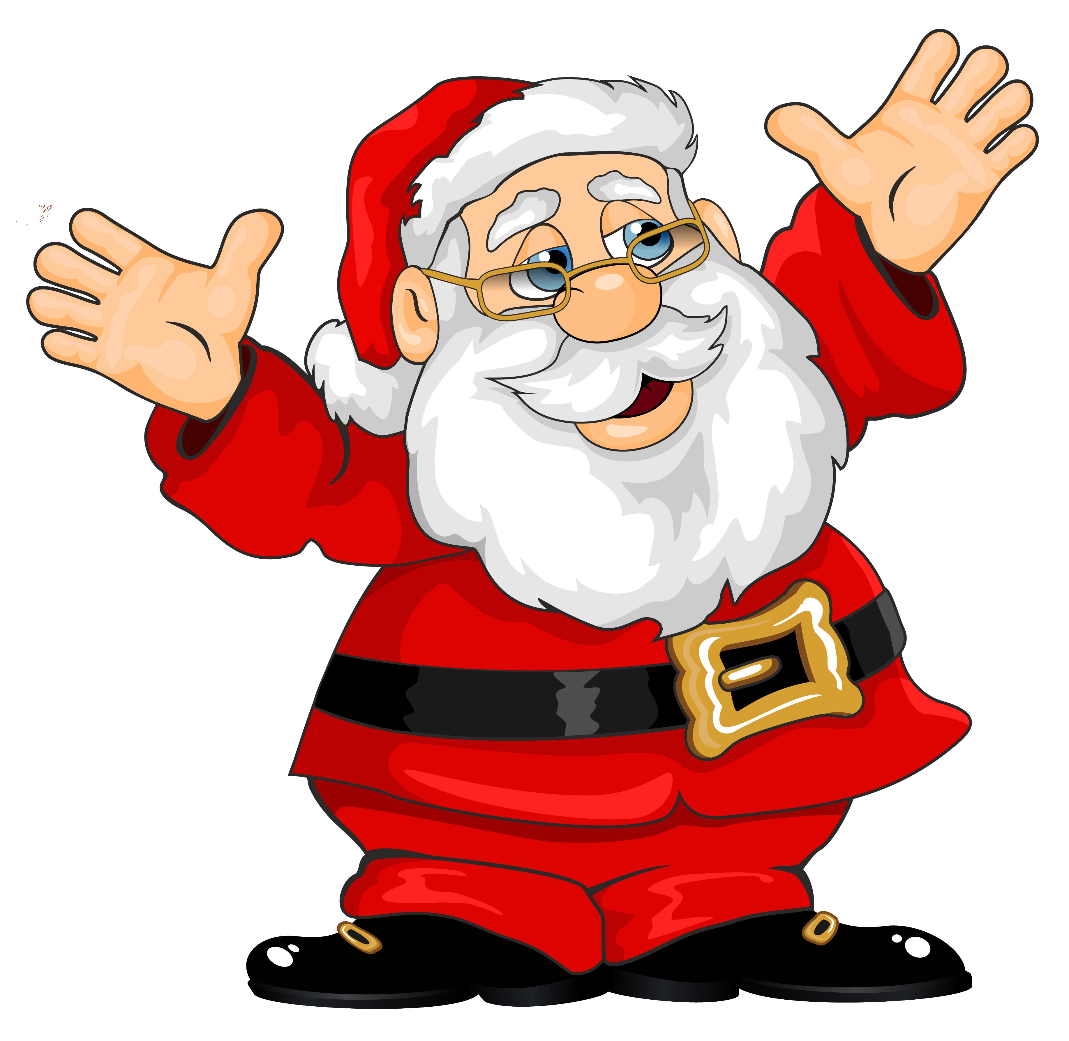 Fun claus . Clipart santa