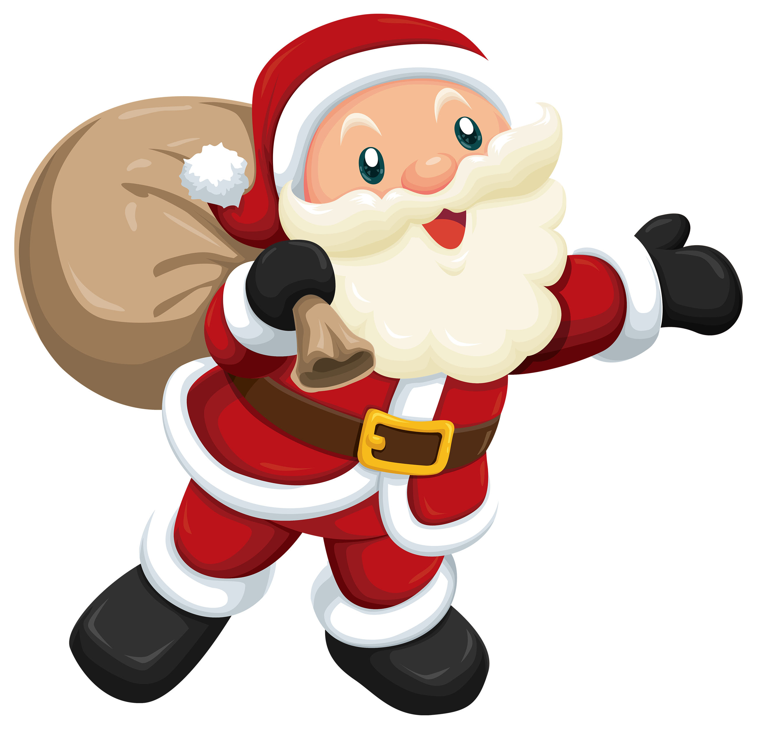 Cute santa png best. Missions clipart secret pal
