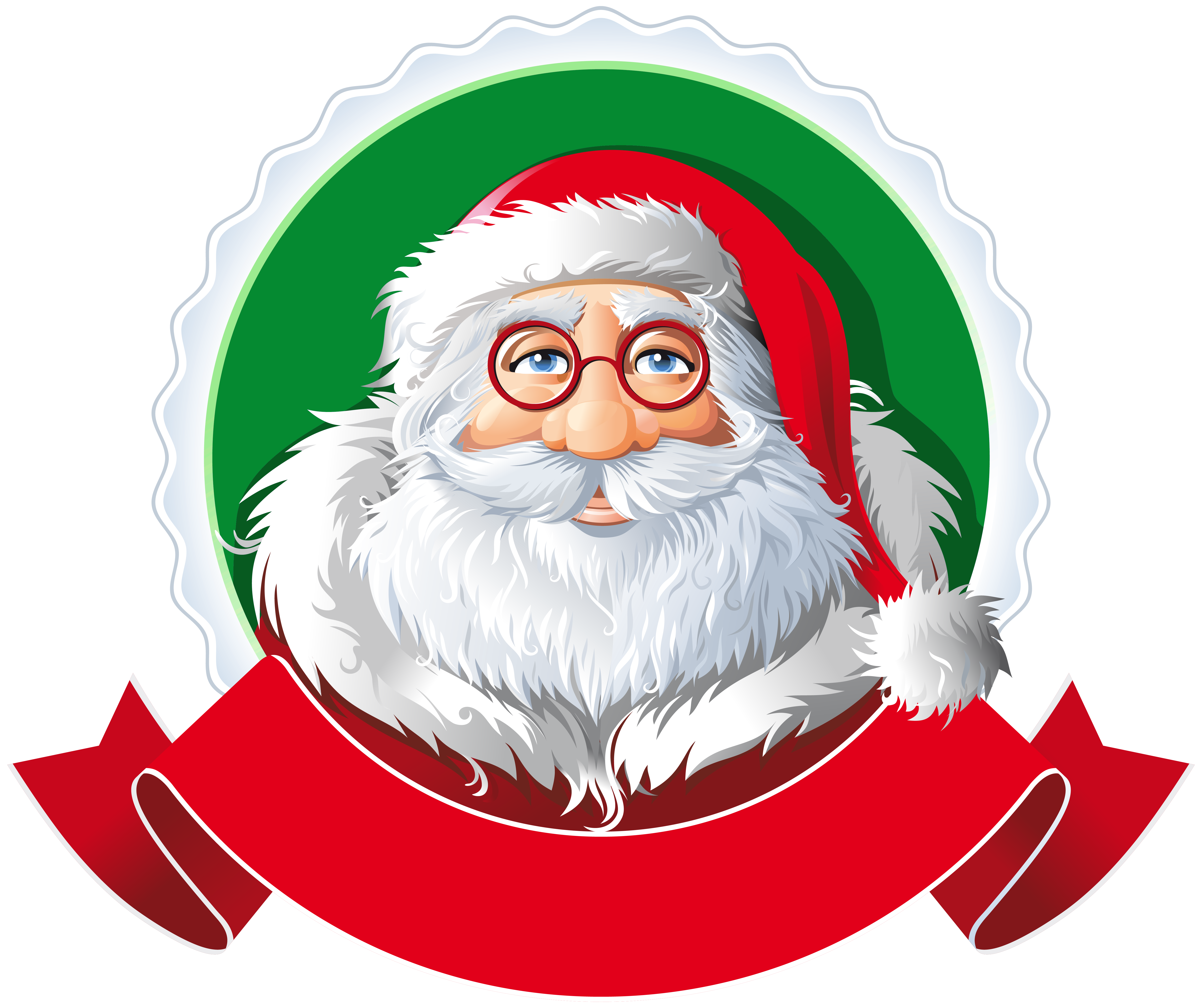 Santa with red png. Piano clipart banner