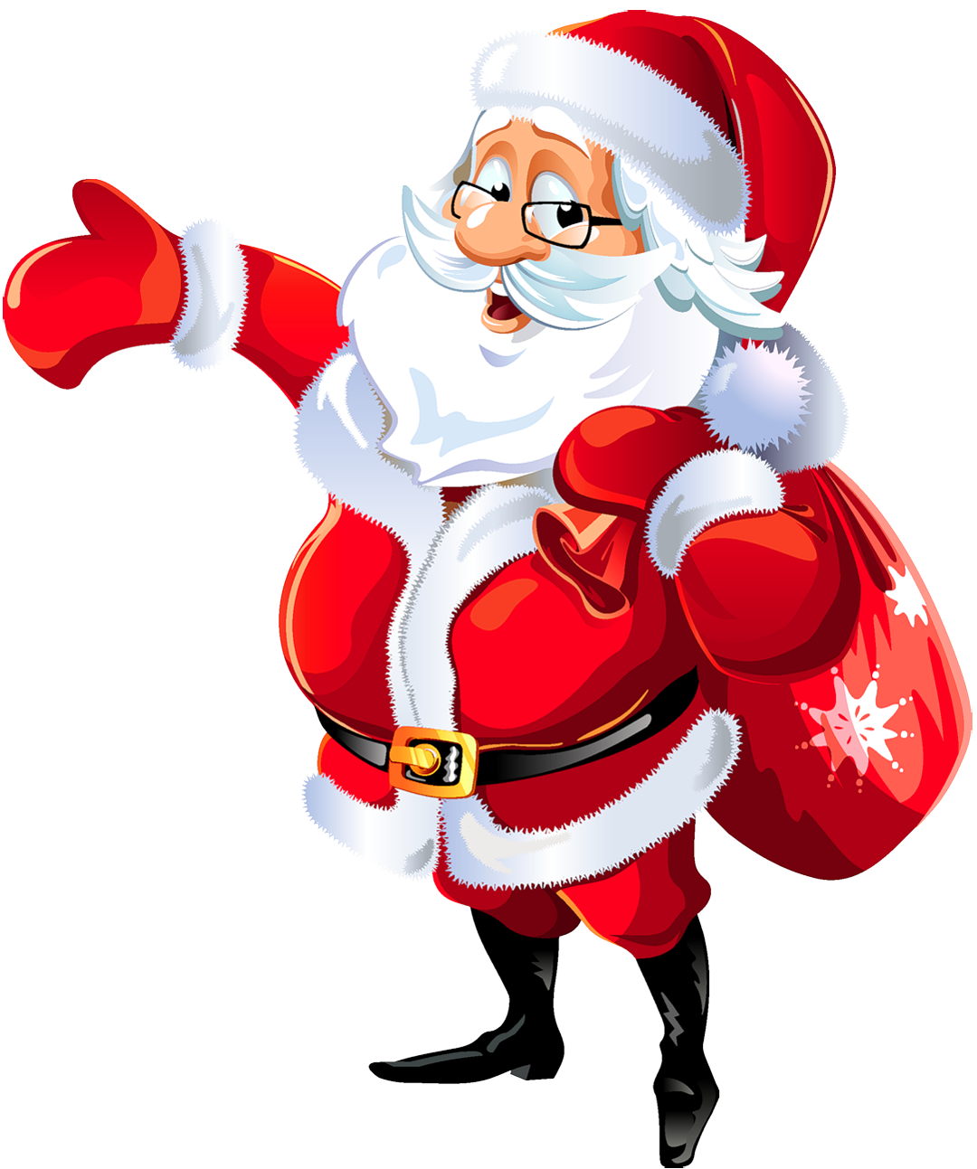 collection of transparent. Gifts clipart santa claus