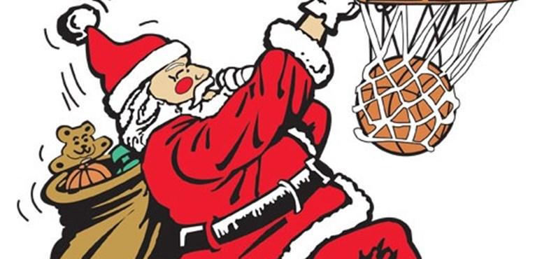 Santa clipart basketball. Free cliparts download clip