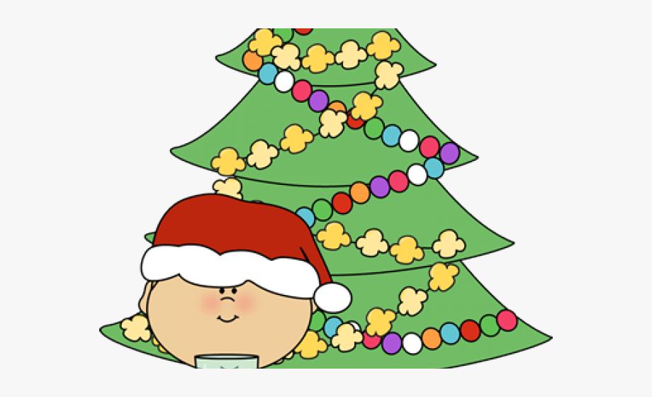 Santa clipart boy. Christmas day clip art