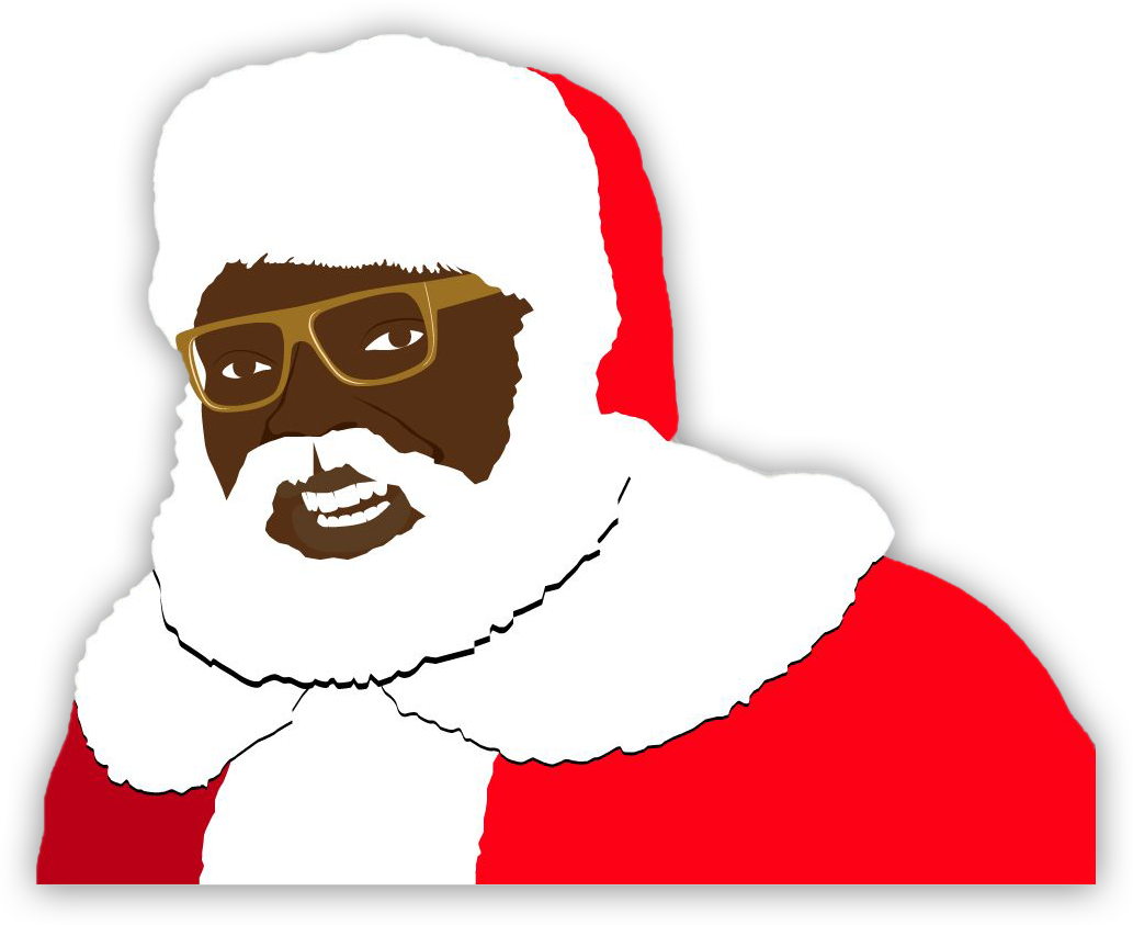 Moustache clipart santa. Real chocolate