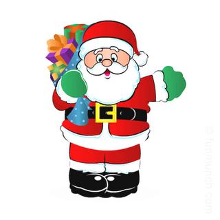 Santa clipart father. Christmas claus collection