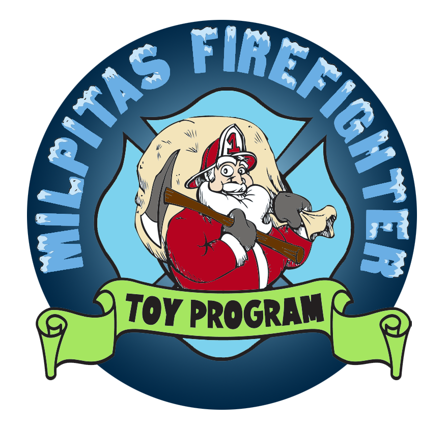 Milpitas firefighters toy program. Firefighter clipart child