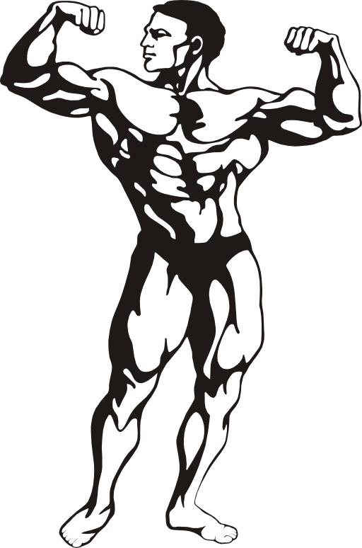 Gym clipart buff. Fitness i royalty free
