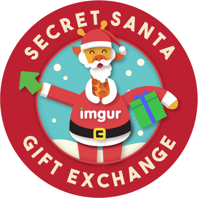 Imgur secret santa data. Gift clipart gift exchange