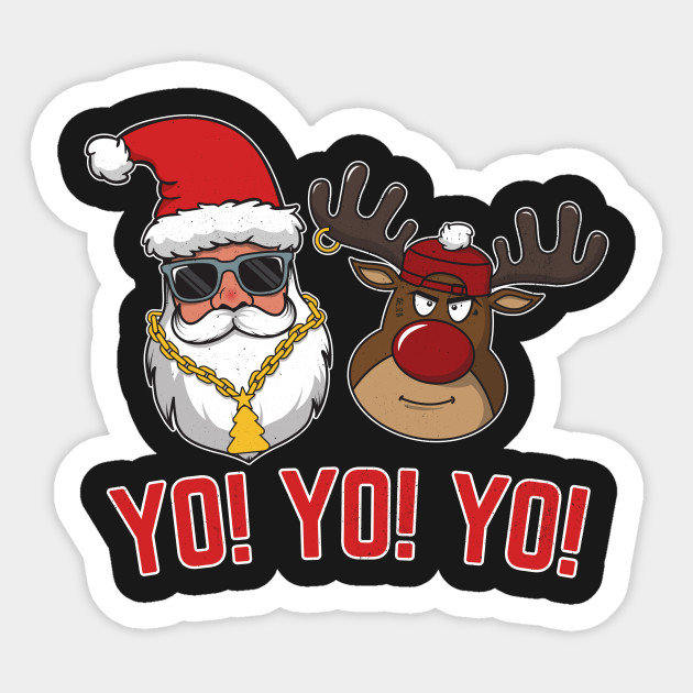 Drawn x free clip. Santa clipart gangster