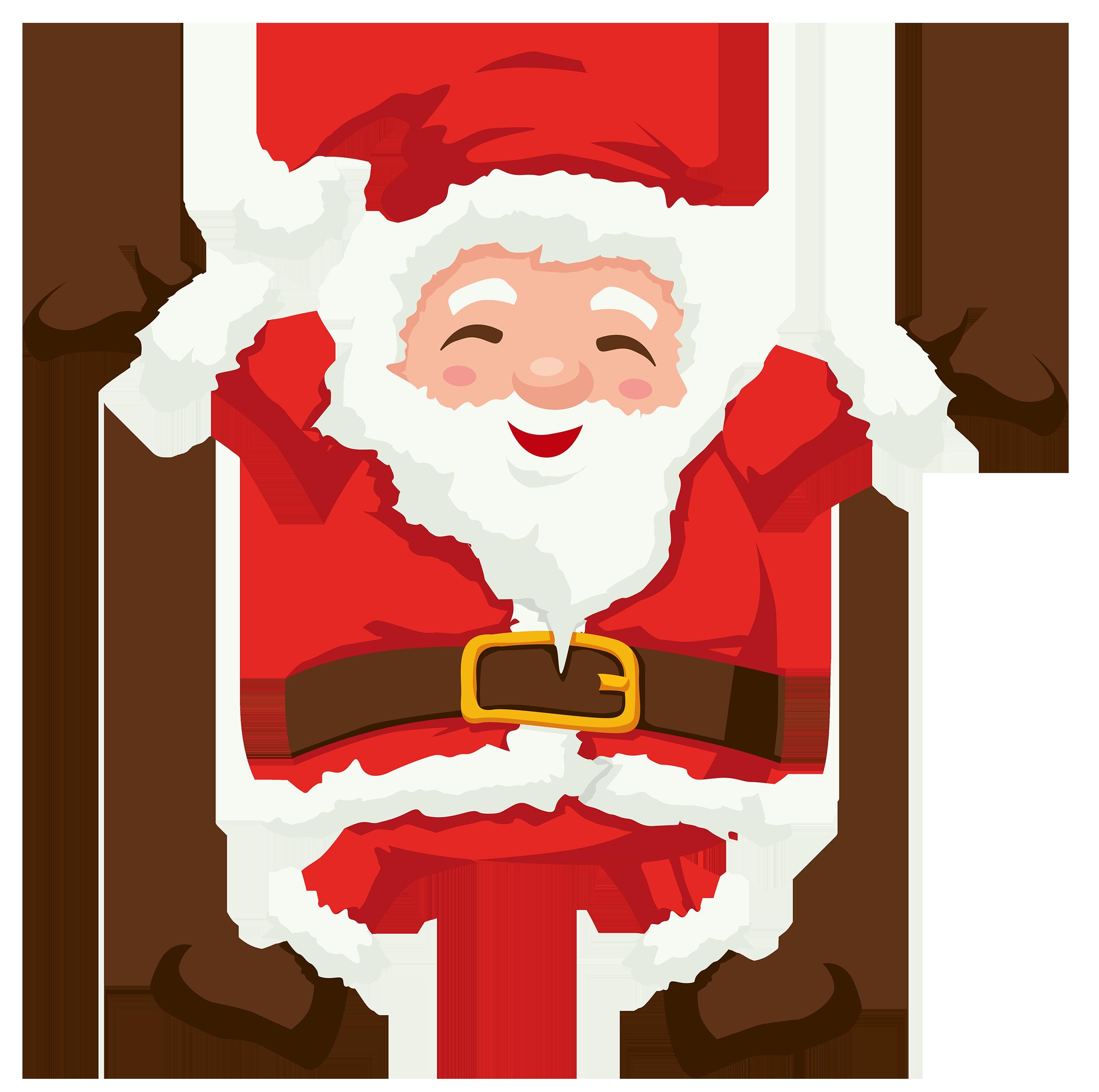 Clipart santa hand. Png best web