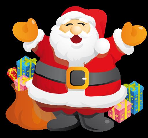 Santa clipart happy. Free cliparts download clip