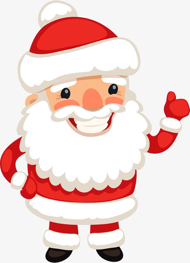 Claus png images . Santa clipart happy