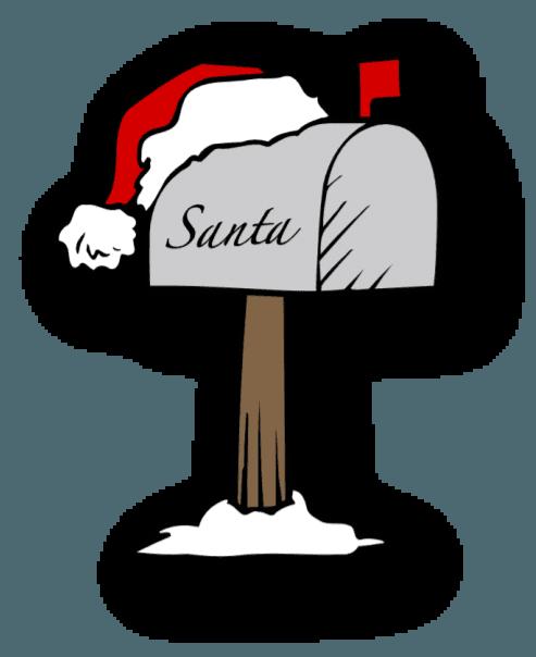Mailbox clipart santa. Red bank borough nj