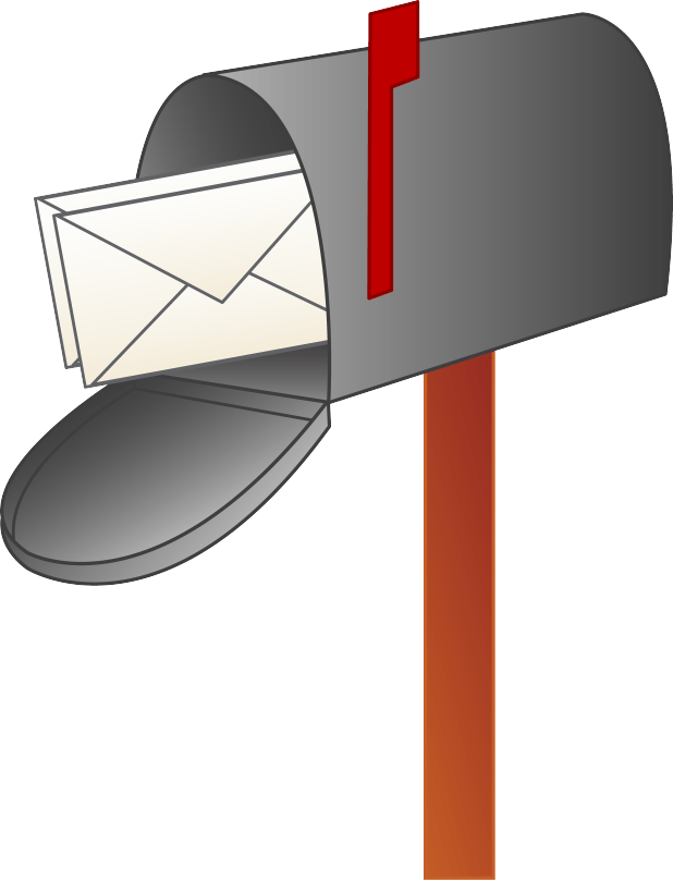 Cartoon cartoonview co. Mailbox clipart empty mailbox