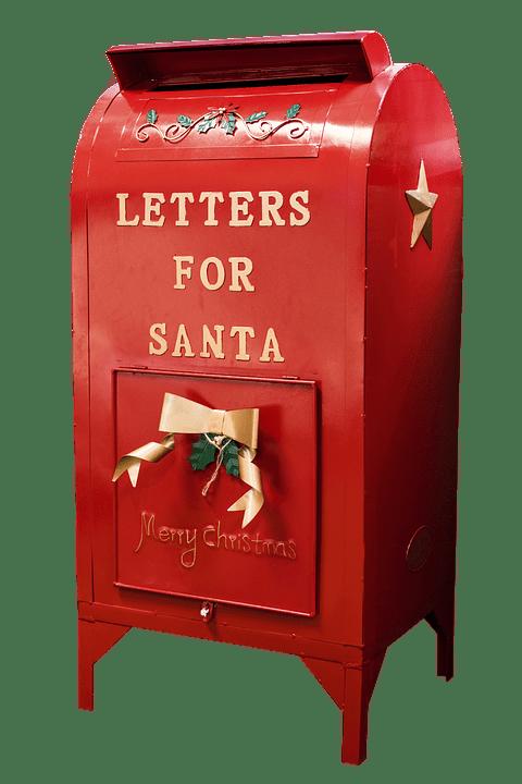 Mailbox clipart santa. Claus transparent png stickpng