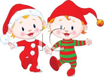 Christmas cliparts free download. Pajamas clipart santa