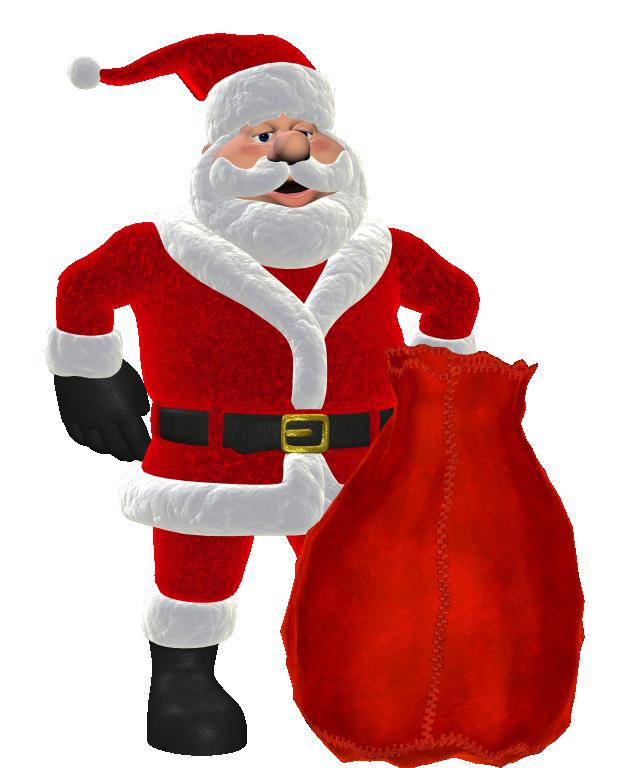 Claus. Santa clipart printable
