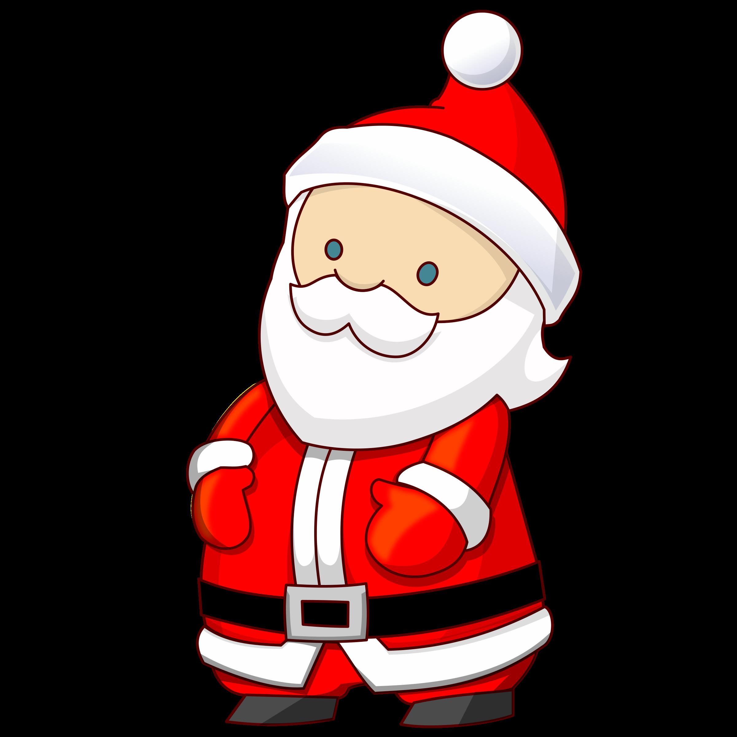 Santa claus. Game clipart christmas
