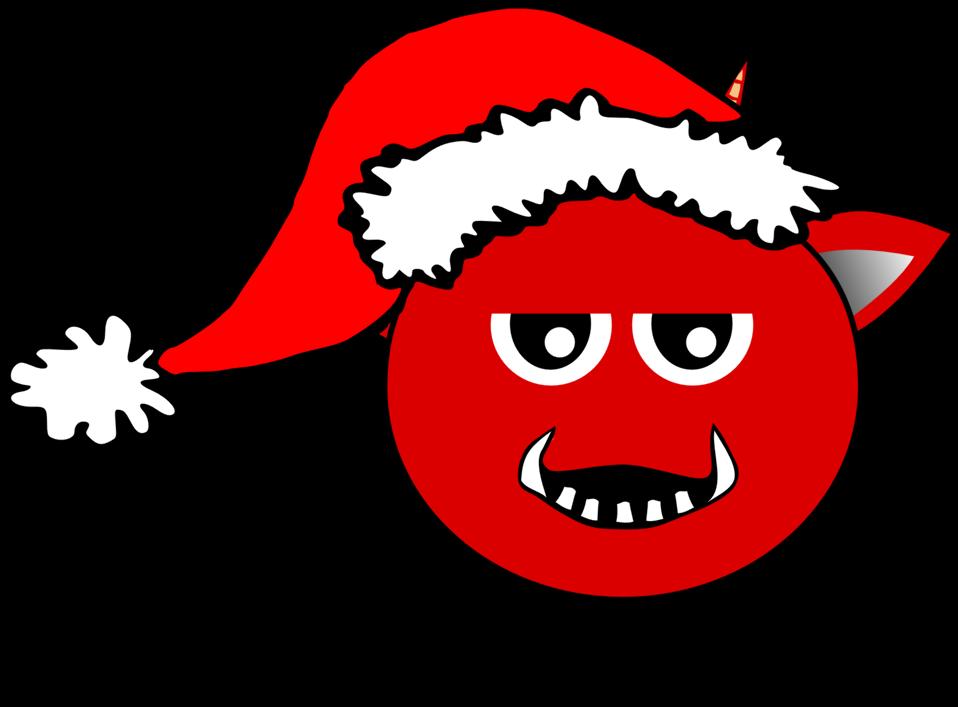 Santa clipart nose. Public domain clip art