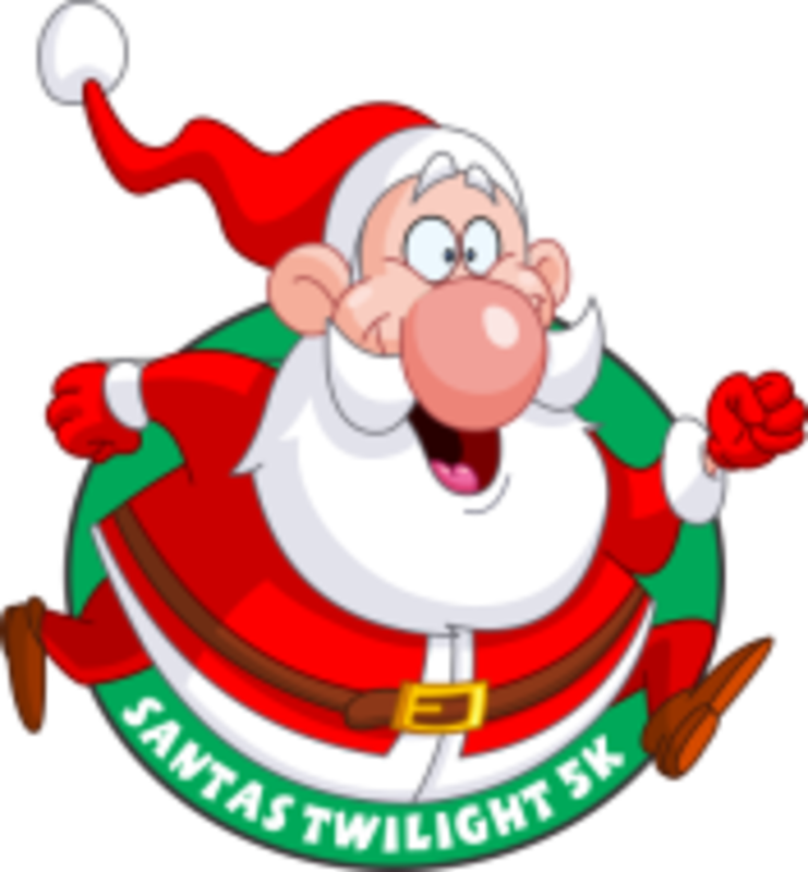 clipart santa rock and roll