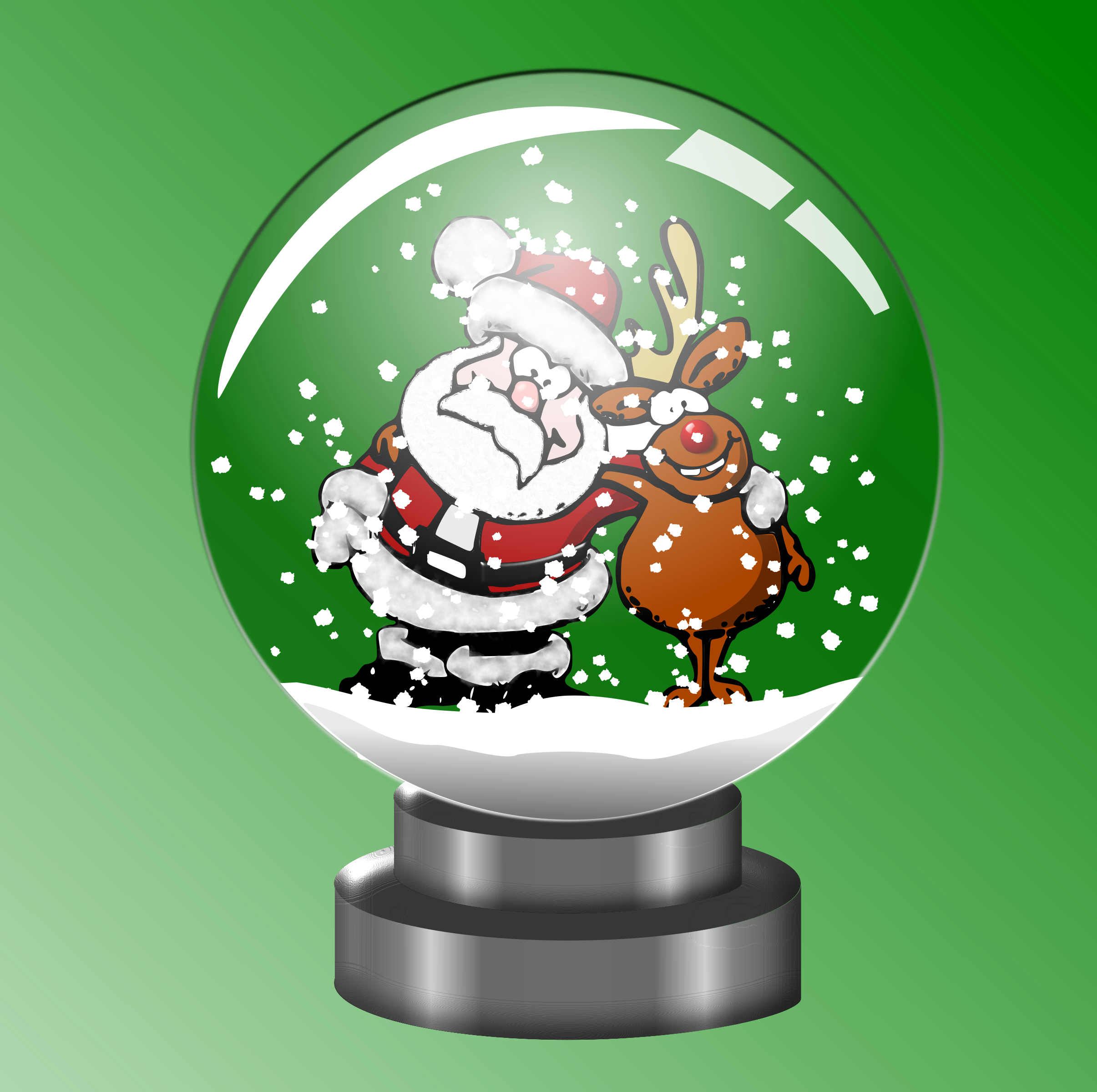 And forever in a. Clipart santa rudolph