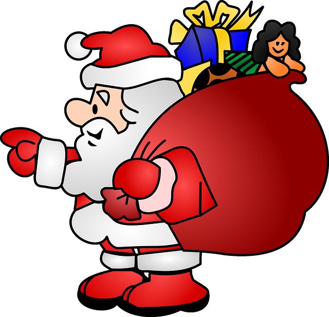 Animated image share on. Clipart santa santa clause