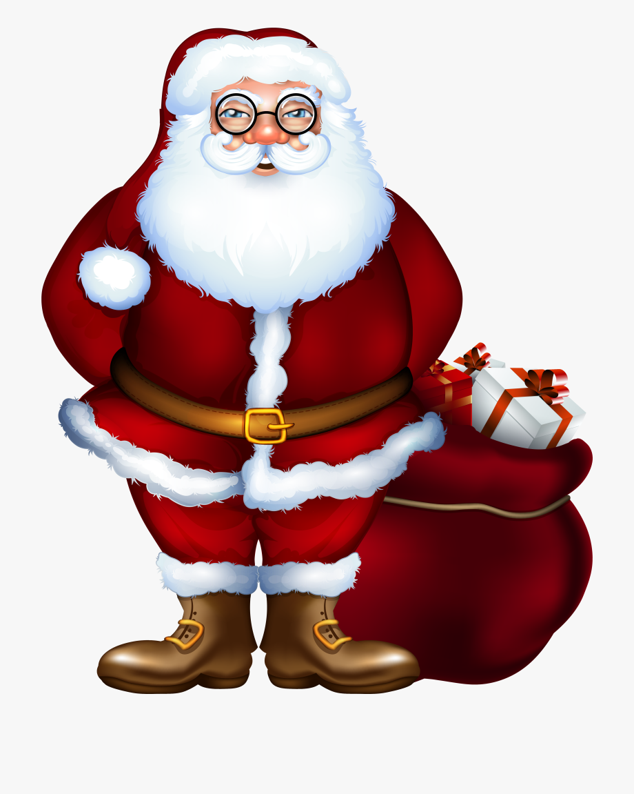 Claus d png . Clipart santa santa clause