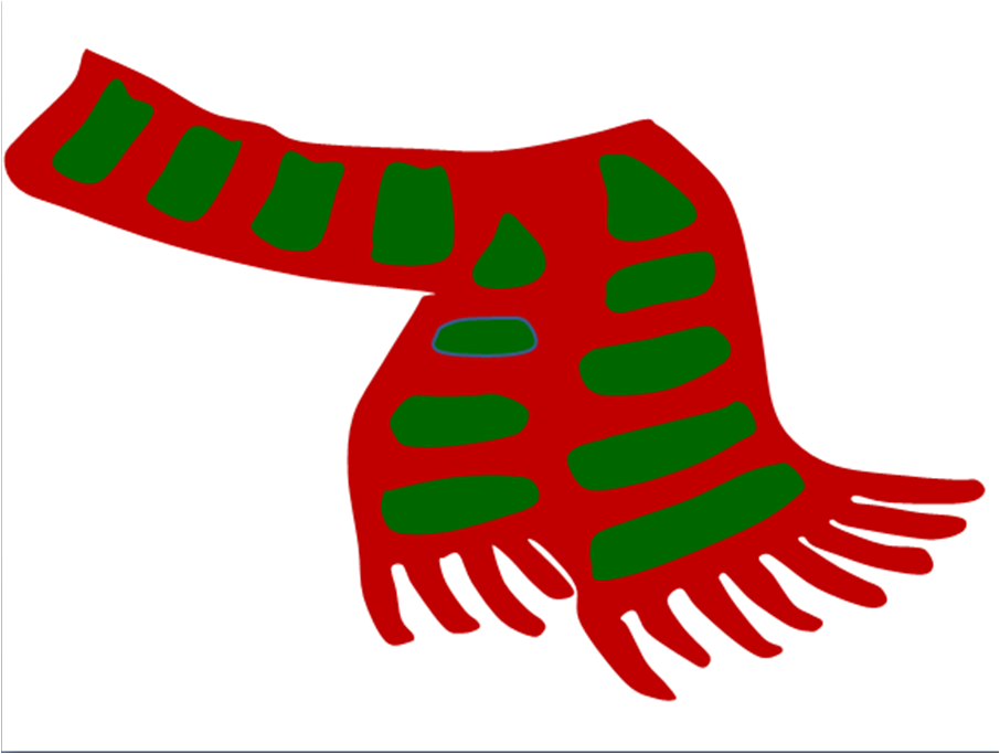 Santa mittens free download. Elves clipart scarf