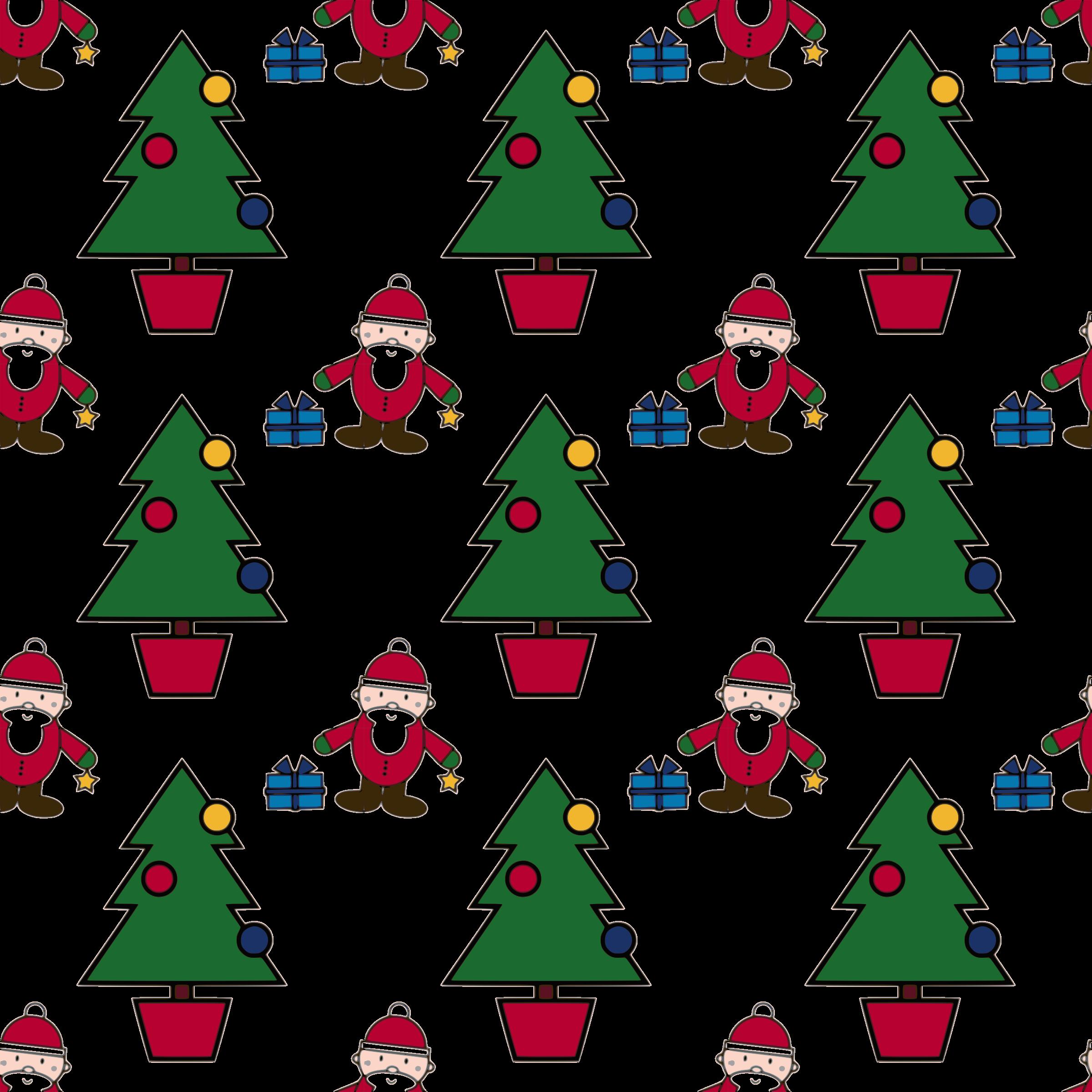 Thanks clipart christmas. Scene seamless pattern big