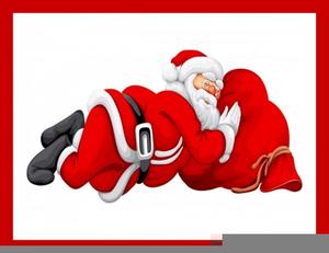 Free images at clker. Santa clipart sleeping