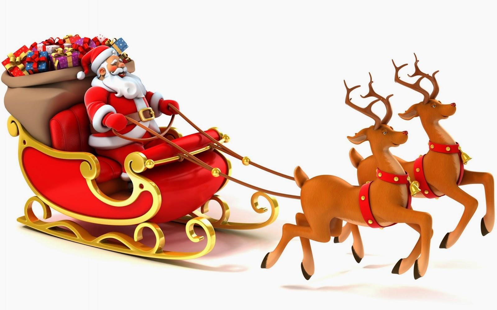 Sleigh clipart santa s. Free cliparts download clip