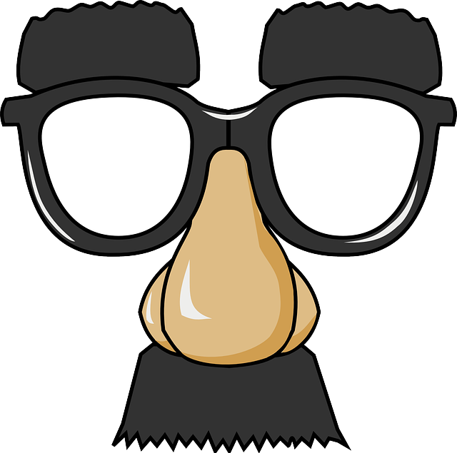 Groucho glasses . Eyeglasses clipart party