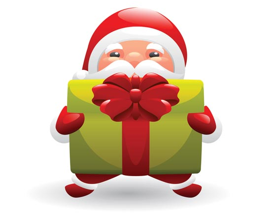 Clipart santa vector. Free claus pictures images
