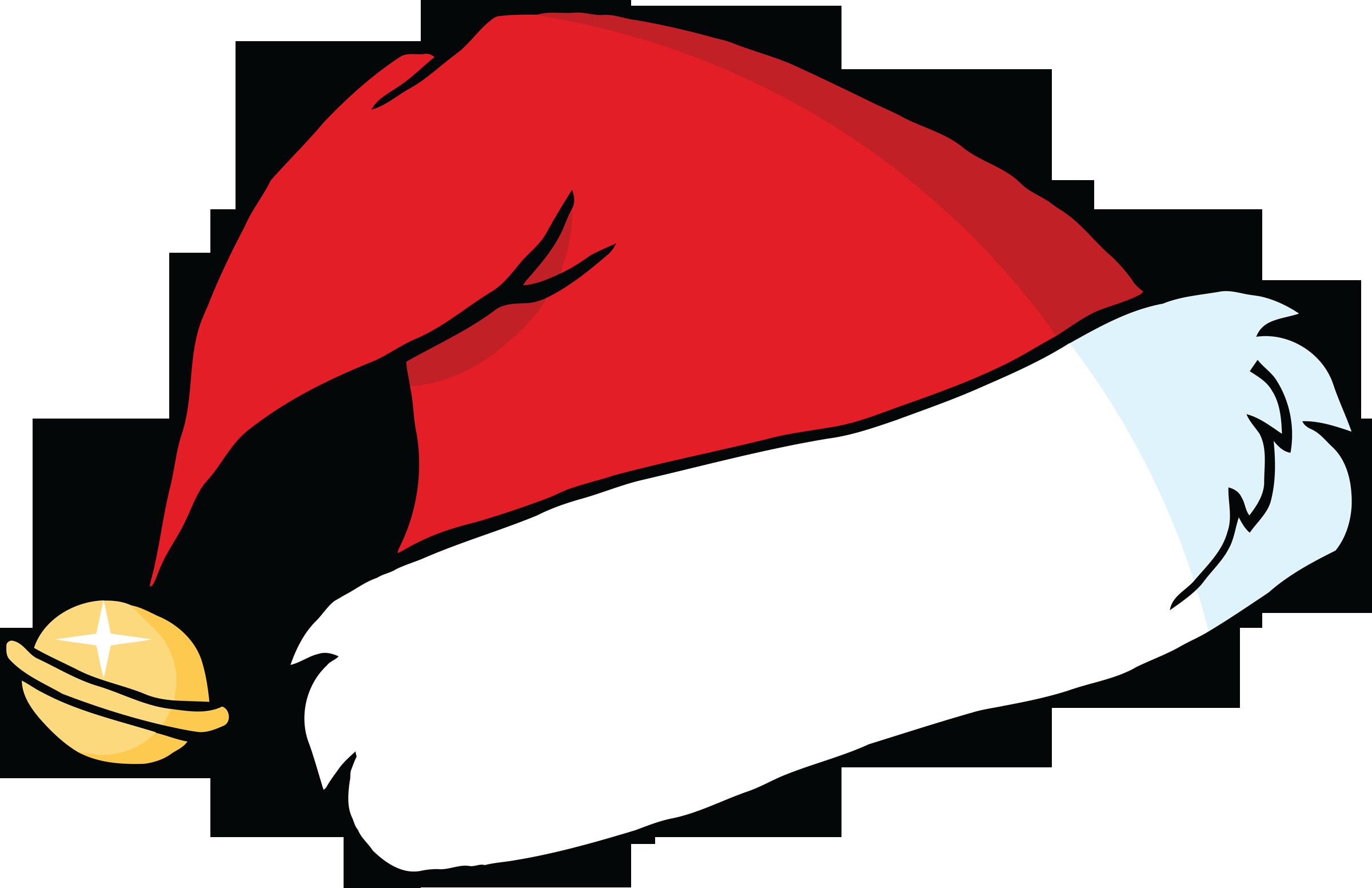 Cartoon santa hat free. Raindrop clipart red