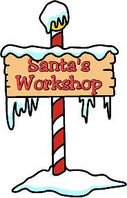 Free cliparts download clip. Clipart santa workshop
