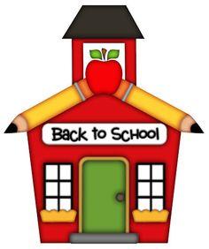 Cute clip art lessons. Schoolhouse clipart end school day