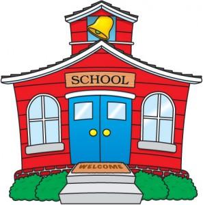 Schoolhouse clipart schhol. School for clip art