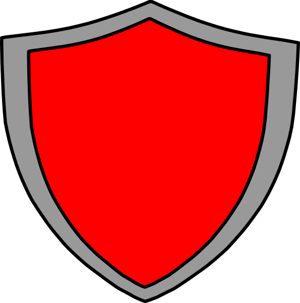 Badge outline clip art. Clipart shield vector
