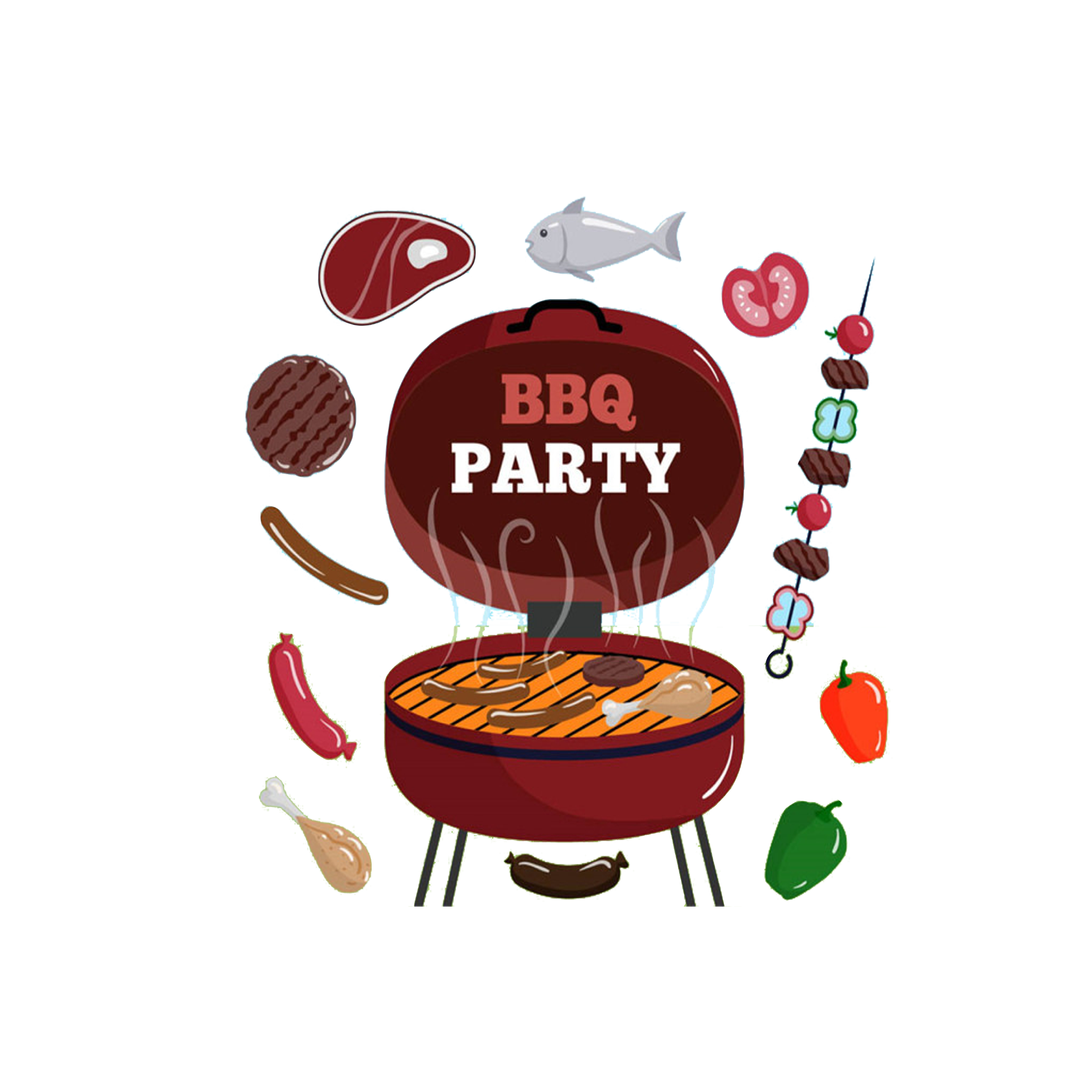 Grill clipart fourth july food. Hot dog red bbq