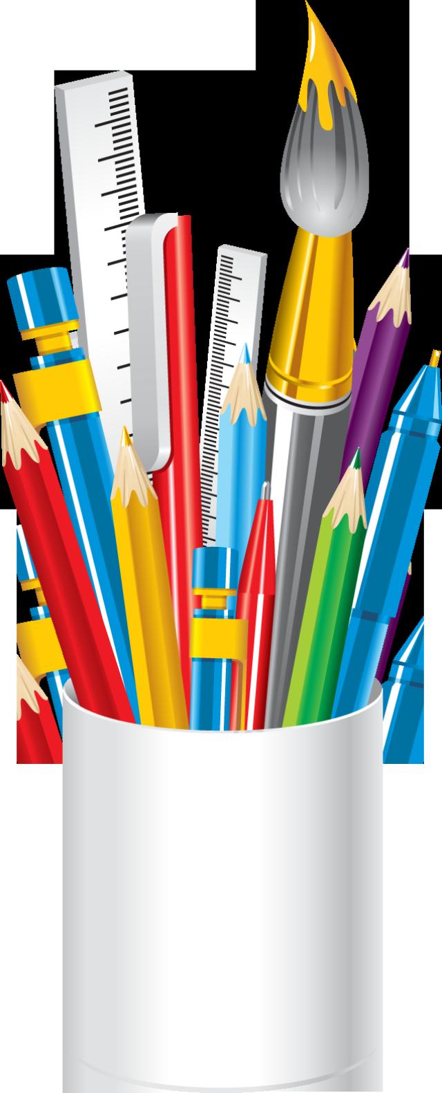School supplies border free. Crayon clipart suply