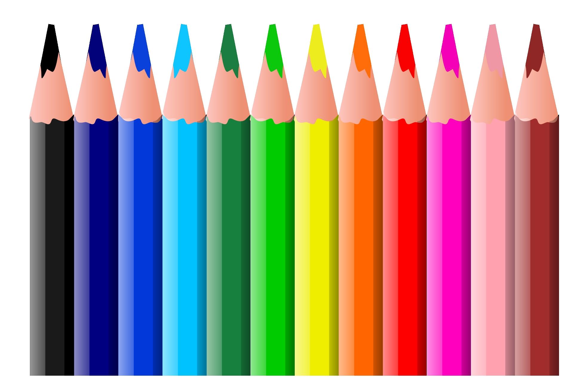 Crayon clipart marker. Clip art for school