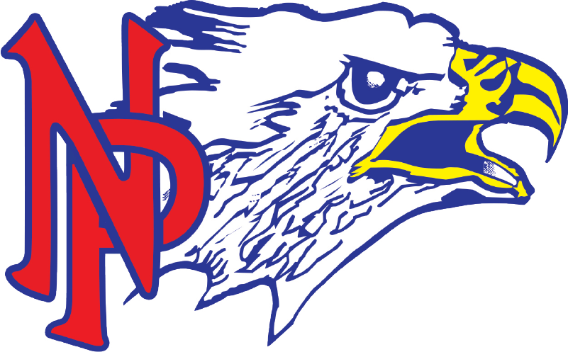 Clipart volleyball eagle. Northland pines school district
