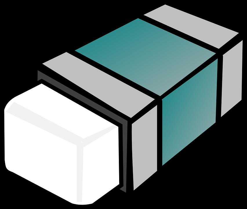 Eraser rubber material