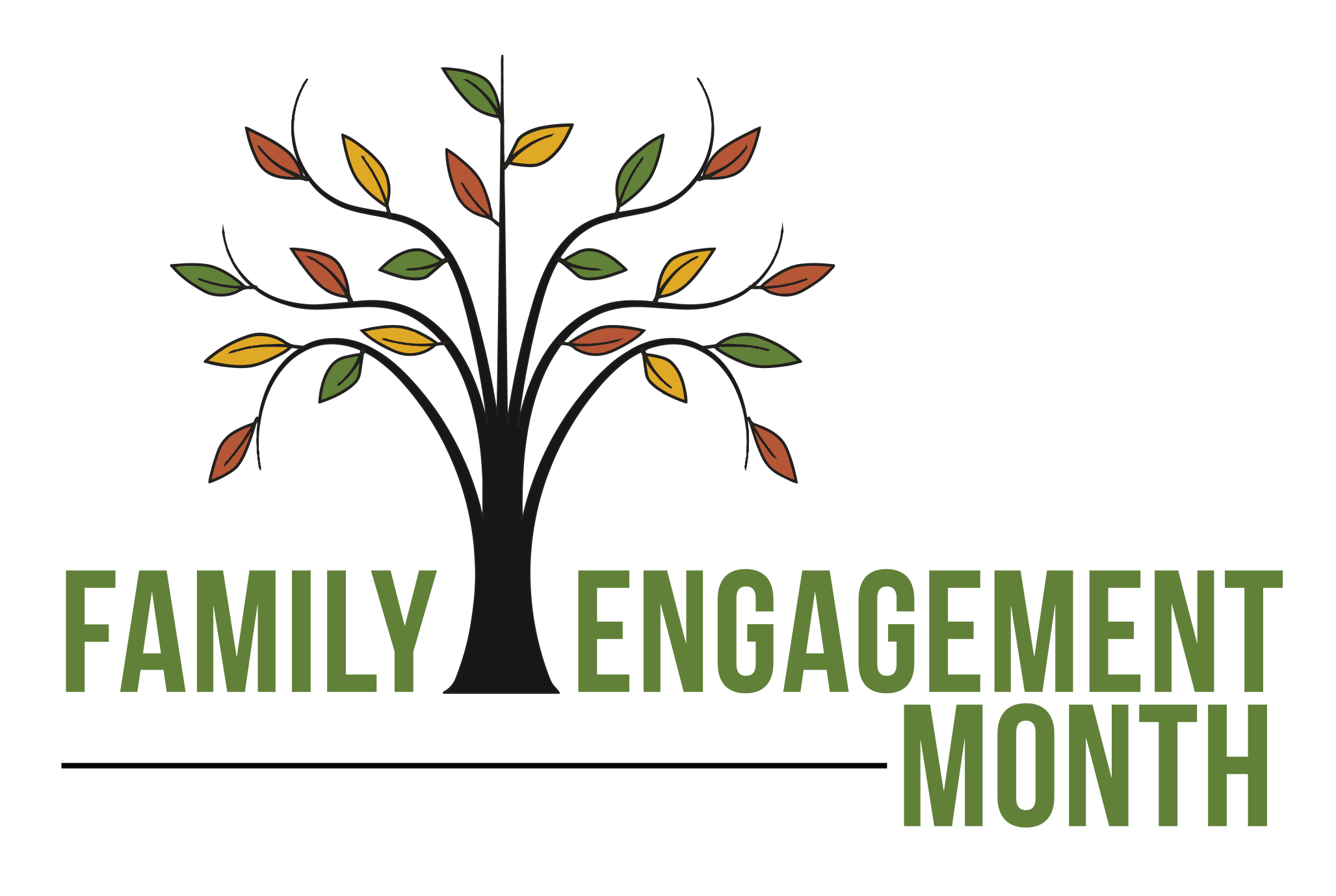 November is family engagement. Conference clipart parent education