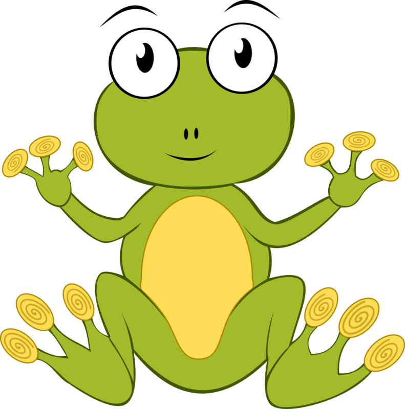 Free images black and. Frog clipart school