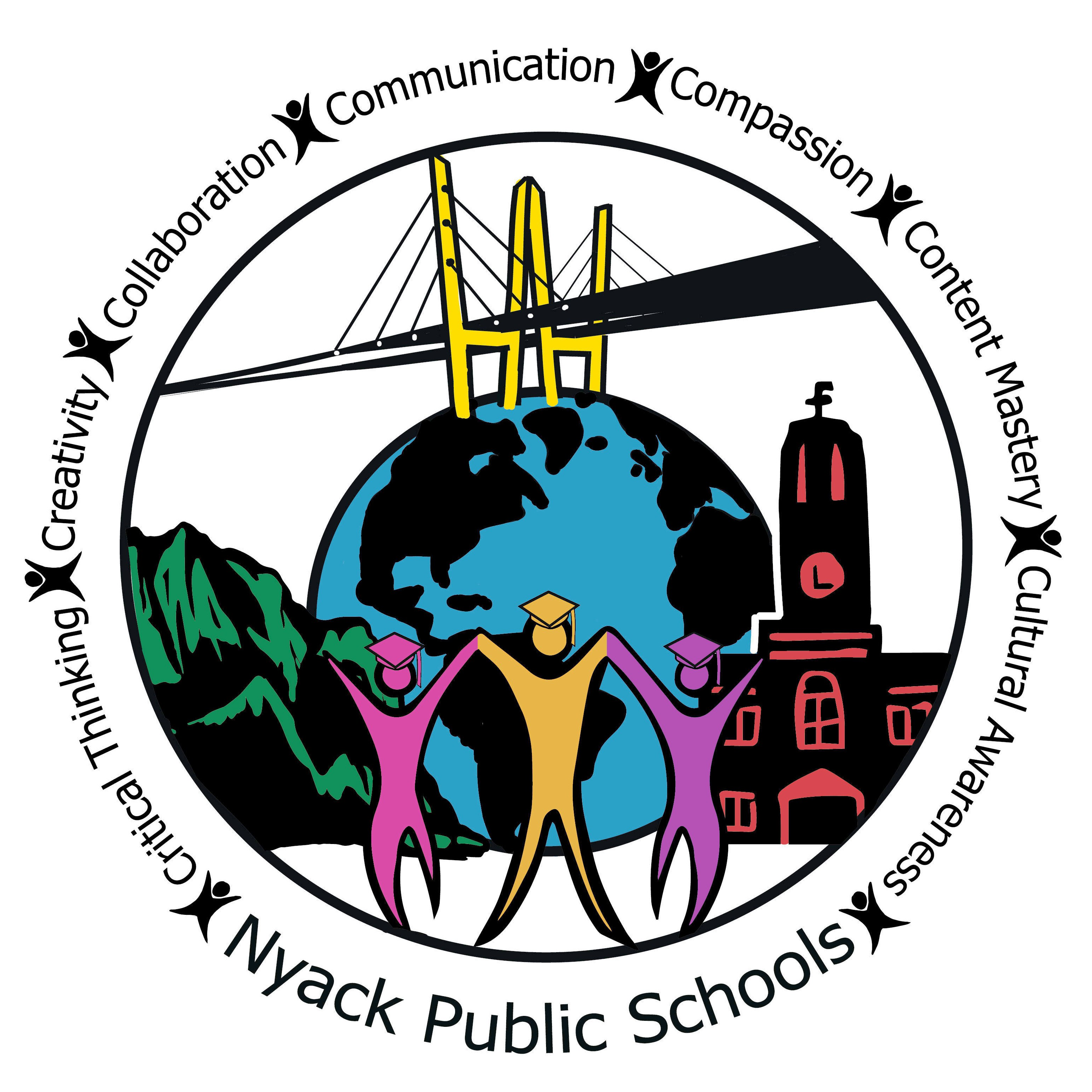 Nyack middle school. Cottage clipart home visit